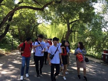北京大学生による北京大学キャンパス案内