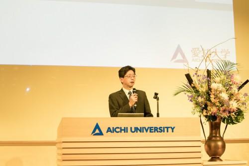 開会あいさつ:戸田センター長